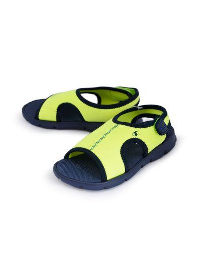 Dekliški sandali Champion® -S31261- OLLY B fluoroscentno rumeni/limeta LMT