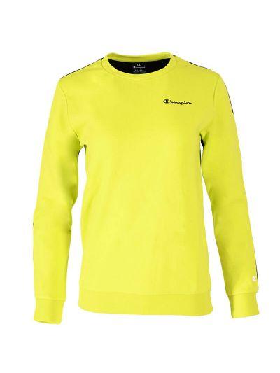Otroški / fantovski pulover Champion ® TWO TONE 305761 -fluo zelen / črn