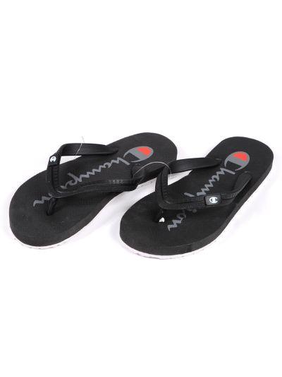 Moški sandali na prst - japonke Champion - S20218 - črni NBK/NBK