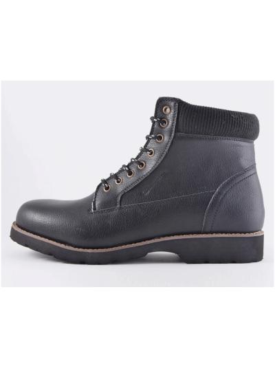 Moški zimski čevlji Champion S20459 UPSTATE NBK - črni