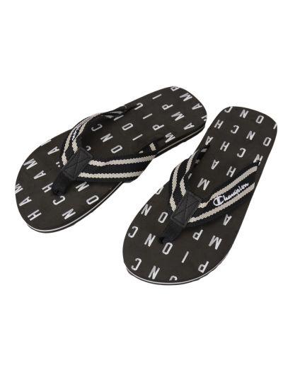 Moški sandali CABANA Champion® - S20868 - na prst - črni print