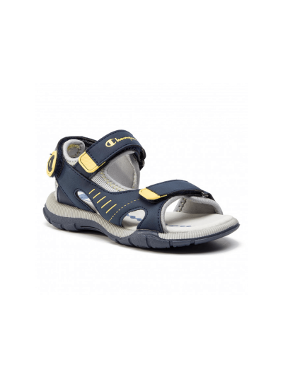 Otroški sandali Champion® DELRAY S31559 - navy/rumeni