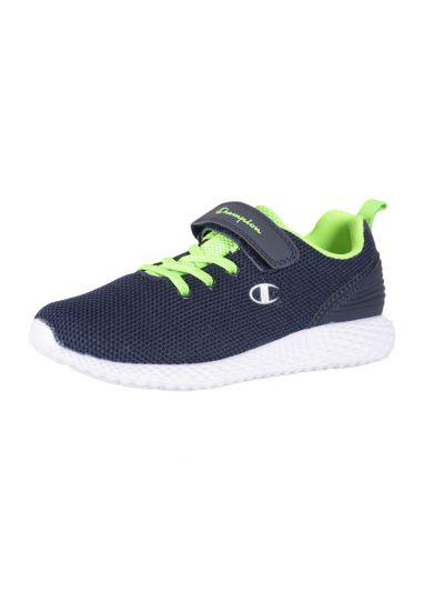 Otroška obutev za prosti čas Champion® S31671 navy/zelena - SPRINT