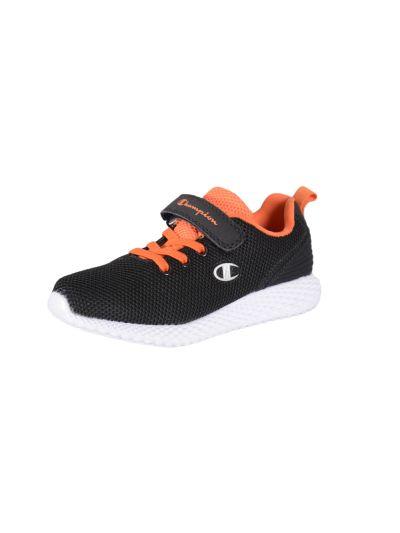 Otroška obutev za prosti čas Champion® S31671 črna/oranžna - SPRINT