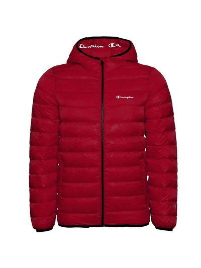 Moška zimska jakna s kapuco Champion® 214869 - temno rdeča