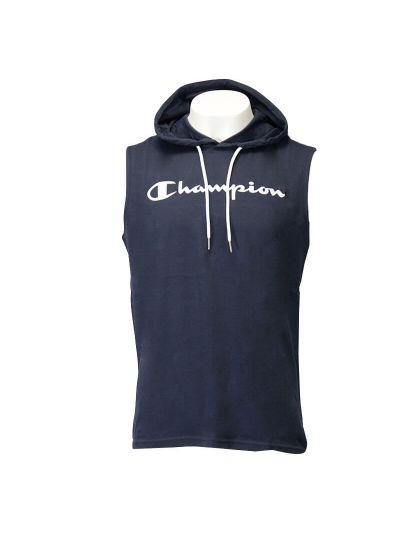 Moška majica brez rokavov s kapuco Champion® 214146 - navy