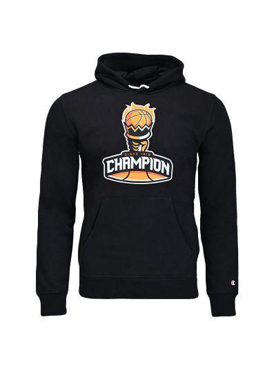 Moški hoodie Champion GRAPHIC 215713 - črn