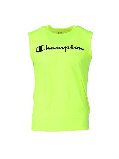 Moška majica brez rokavov Champion QuickDry 214169 - fluo rumena