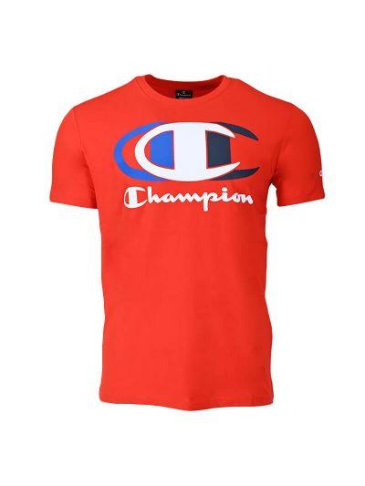 Moška majica kratek rokav Champion GRAPHIC 214309 - rdeča