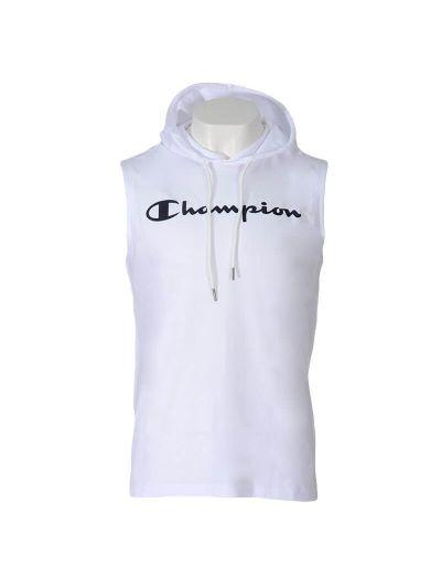 Moška majica brez rokavov s kapuco Champion® 214146 - bela
