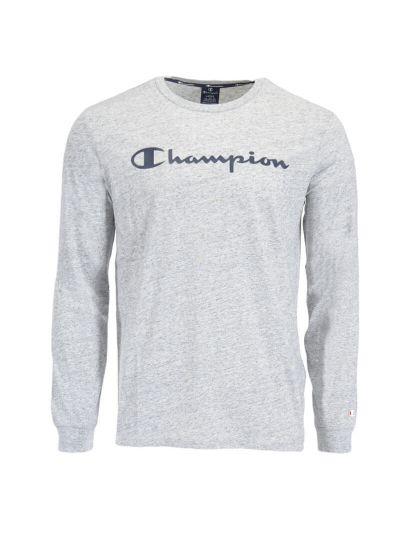 Moška majica z dolgimi rokavi Champion® 214748 - siva