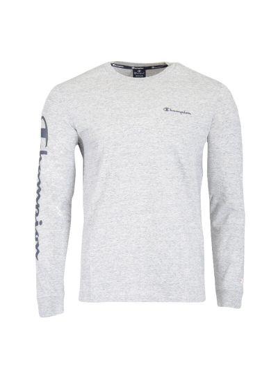 Moška majica z dolgimi rokavi Champion® 215262 - siva