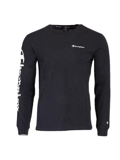 Moška majica z dolgimi rokavi Champion® 215262 - črna