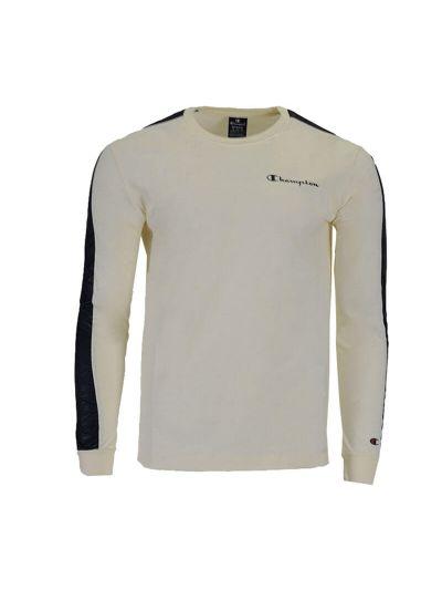 Moška majica dolg rokav Champion 214778 - bež