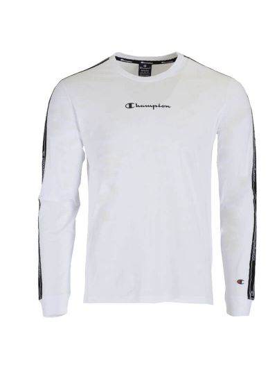 Moška majica dolg rokav Champion 215316 - bela