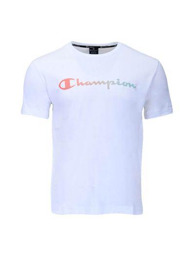 Moška majica kratek rokav Champion AMERICAN PASTELS 215791 - bela