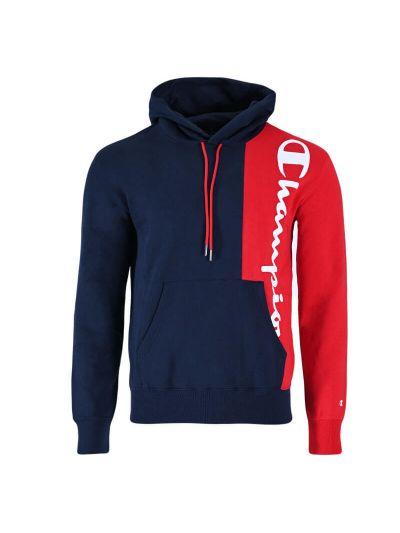 Moški hoodie Champion ® TWO TONE 216463 - navy / rdeč