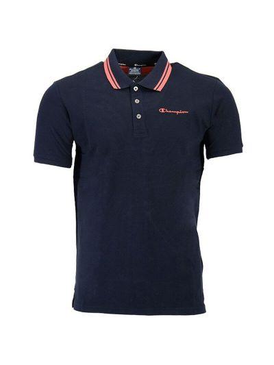 Moška polo majica kratek rokav Champion 216088 - navy