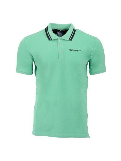 Moška polo majica kratek rokav Champion 216088 - pastelno zelena