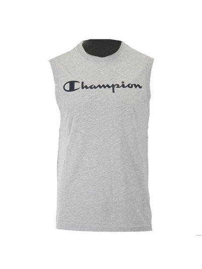 Moška majica brez rokavov Champion 214144 - siva