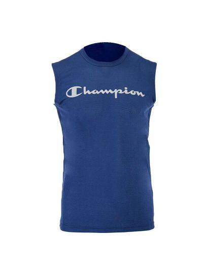 Moška športna majica brez rokavov Champion TRAIN QuickDry 214169 - navy