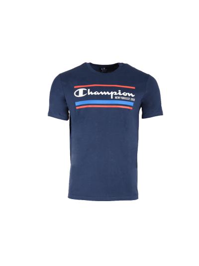 Moška športna majica Champion GRAPHIC 214306 - navy