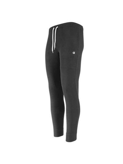 Moške dolge hlače Champion 215097 na patent - črne