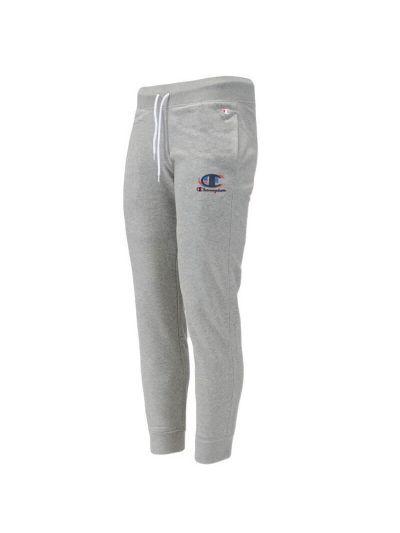 Moške dolge hlače na patent Champion® GRAPHIC 214299 - sive