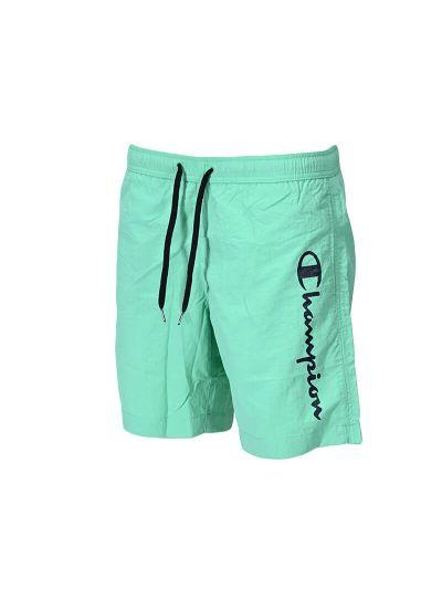 Moške kratke kopalne hlače Champion® 216068 - pastelno zelene
