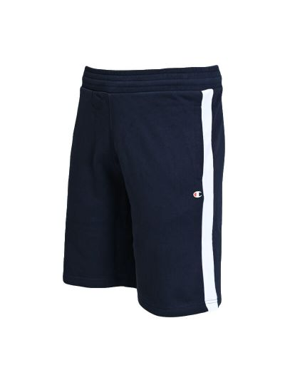 Moške bermuda hlače Champion LEGACY 214379 - navy / bele
