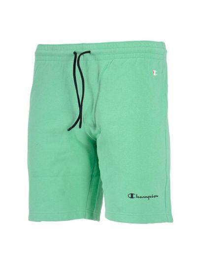 Moške bermuda kratke hlače Champion AMERICAN PASTELS 215784 - pastelno zelene