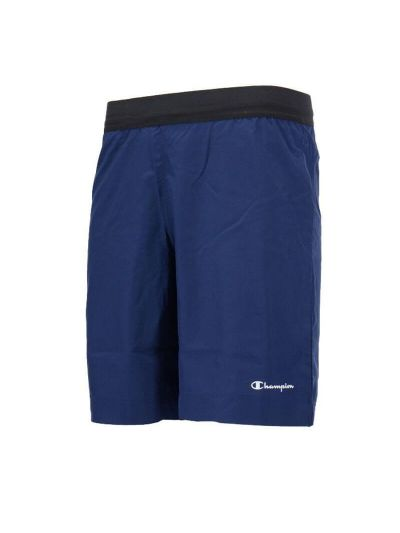 Moške športne bermuda hlače Champion TRAIN 215739 - modre