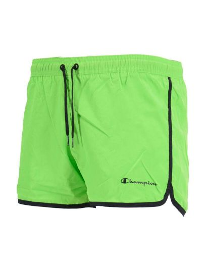 Moške kratke kopalne hlače Champion 214447 - fluo zelene