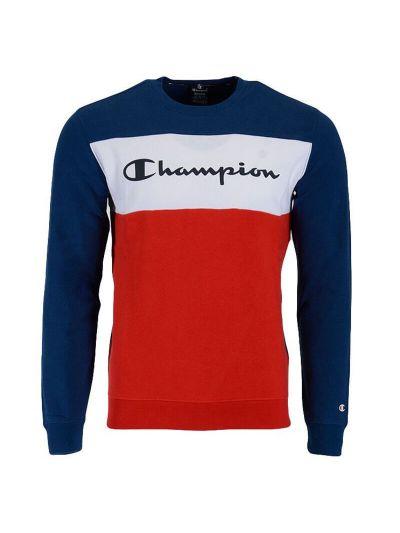 Moški pulover Champion American Classics 216198 - navy / rdeč / bel