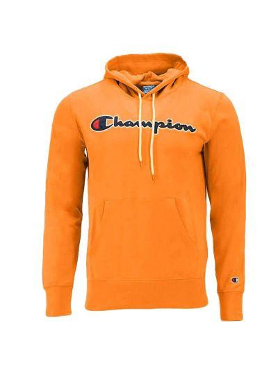Moški pulover s kapuco Champion ROCHESTER 214183 - oranžen