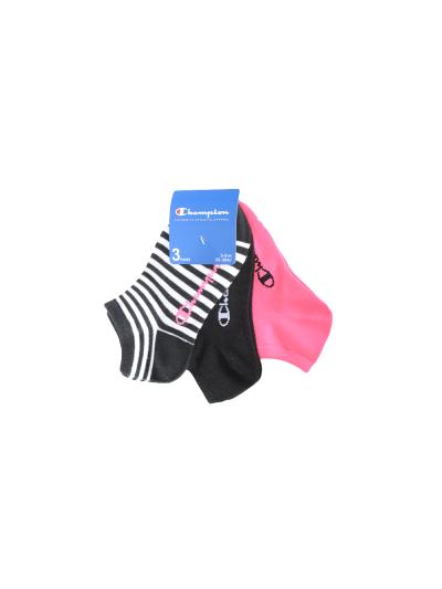 Nogavice kratke Champion® - črni / roza