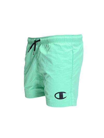 Otroške kratke kopalne hlače Champion 305727 - pastelno zelene