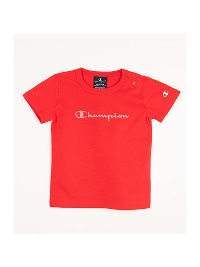 Baby majica s kratkimi rokavi Champion® 305282 - rdeča