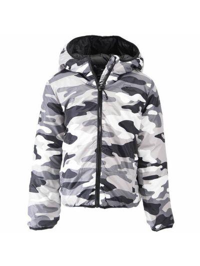 Otroška jakna Champion® s kapuco 304837 - camo print
