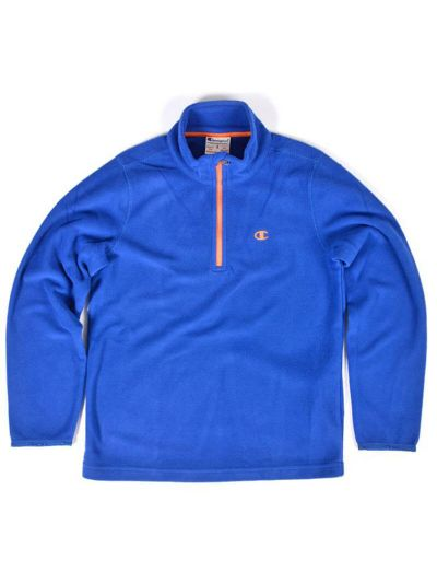Fantovski flis pulover Champion 304086 - moder BVU/JFO