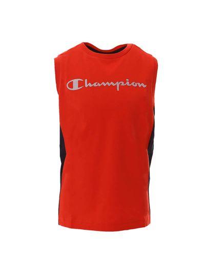 Fantovska majica brez rokavov Champion® 305172 - rdeča