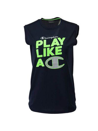 Otroška športna majica brez rokavov Champion PLAY LIKE A