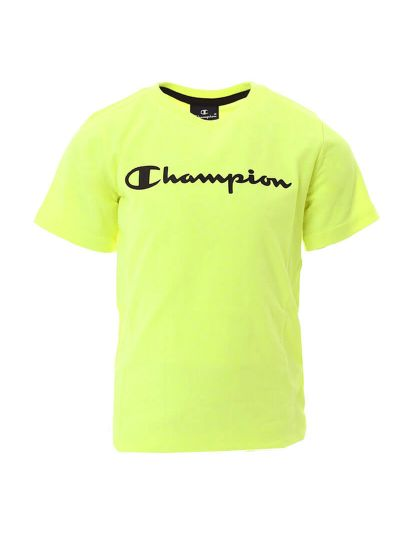 Otroška športna majica s kratkimi rokavi Champion® 305194 - fluo