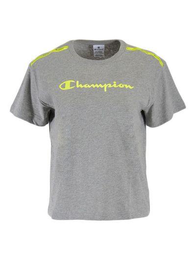 Dekliška športna majica Champion® kratek rokav - siva