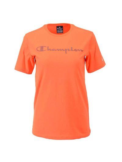 Otroška športna majica kratek rokav Champion 305169 - oranžna
