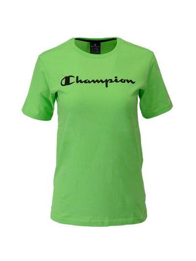 Fantovska športna majica s kratkimi rokavi Champion® 305194 - zelena