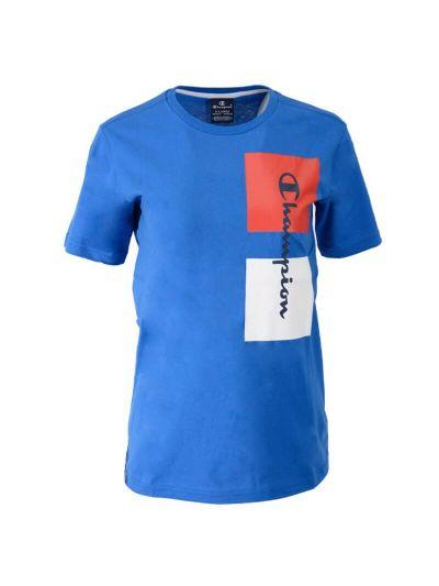 Otroška športna majica Champion LEGACY 305204 - modra