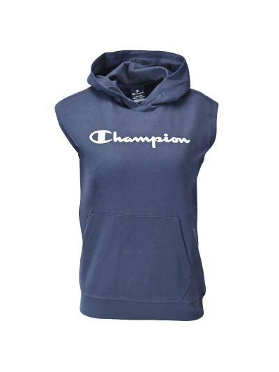Otroška majica s kapuco brez rokavov Champion® 305166 - navy