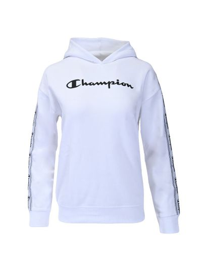 Dekliški hoodie Champion ® 404280 - bel