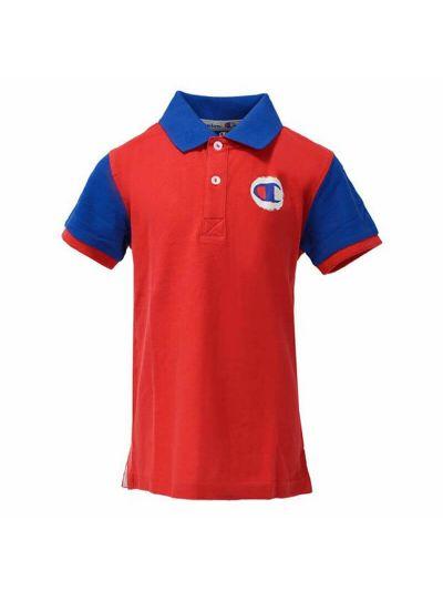 Otroška polo majica Champion® 304714 kratek rokav rdeča RED